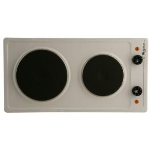 table cuisson 2 feux 2500w blanche mezieres 625blim mezieres. Black Bedroom Furniture Sets. Home Design Ideas