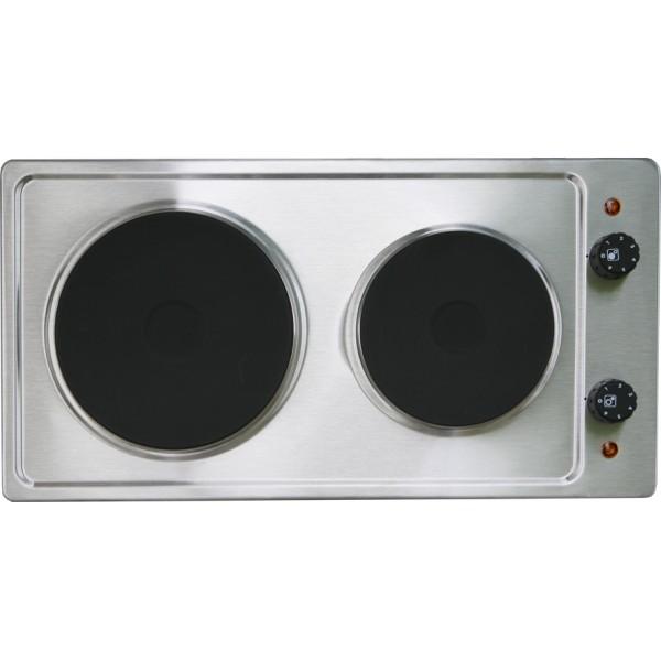 table cuisson 2 feux 2500w inox mezieres 625inim mezieres. Black Bedroom Furniture Sets. Home Design Ideas