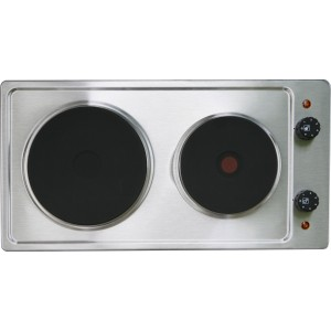 TABLE CUISSON 2 FEUX 3000W INOX MEZIERES 630INIM