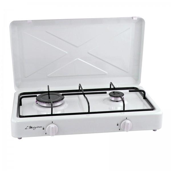 rechaud gaz 2 feux multigaz mezieres 3006c mezieres. Black Bedroom Furniture Sets. Home Design Ideas