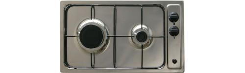 Domino 2 feux gaz mezieres - Table de cuisson gaz 2 feux encastrable ...