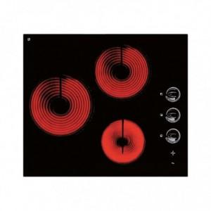 Table vitrocéramique 3 zones
